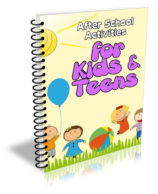 After School Activities for Kids & Teens - ebook - Private Label Rights