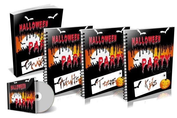 Halloween party pack ebook and audios private label rights halloween party pack ebook and audios plr fandeluxe PDF