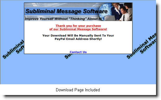 Subliminal Software Package: Master Resale Rights, Master