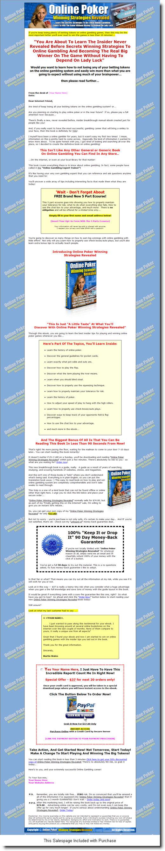 Poker online winning strategies