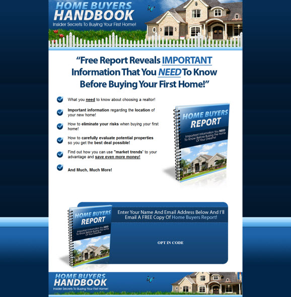 Home Buyers Handbook - ebook - Private Label Rights