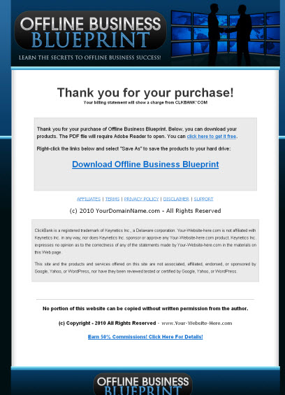 Offline business blueprint viral ebook master resale rights more images malvernweather Gallery
