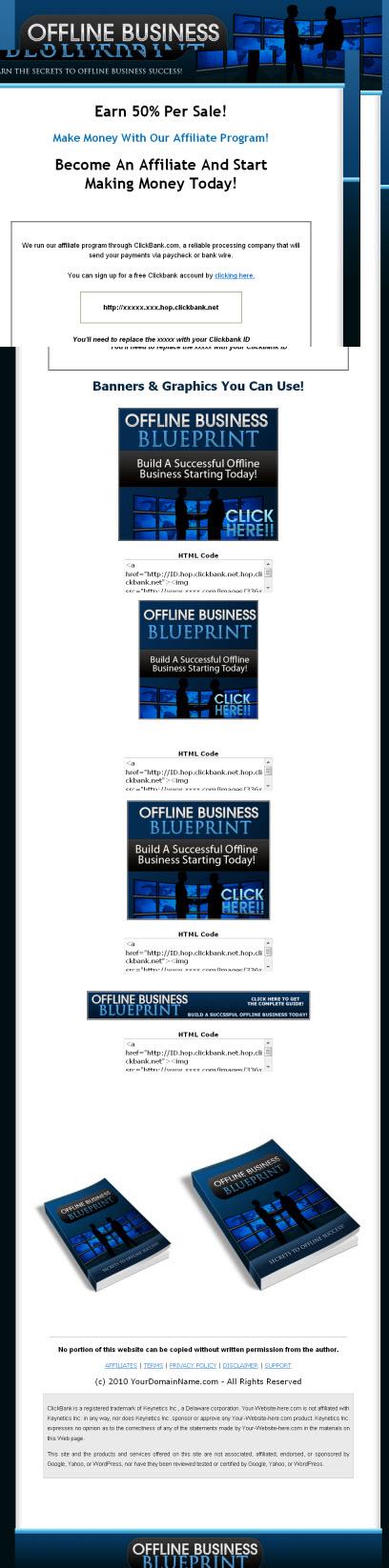 Offline business blueprint viral ebook master resale rights more images malvernweather Choice Image
