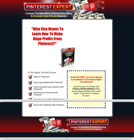 Pinterest Expert - eBook and Video Series - Master Resell Rights