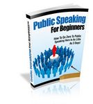 Public Speaking for Beginners (PLR)