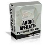 Audio Affiliate Postcard Generator