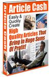 Article Cash (PLR)