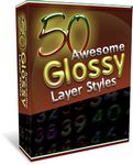 50 Awesome Glossy Layer Styles for Photoshop