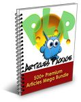 Premium Pack (500 PLR Articles)