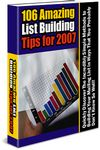 Amazing List Building Tips for 2007