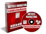 Article Marketing Quick and Easy Overview - Audio eBook