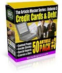 Article Master Series  Volume 3 - Credit Cards and Debt