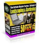 Article Master Series  Volume 5 - Landscaping and Garden