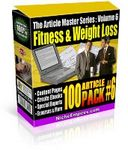 Article Master Series  Volume 6 - Fitness and Weightloss