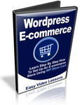 Wordpress E-commerce Store - Video Workshop (PLR)