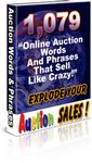 Auction Words that Sell