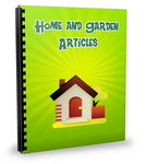 Gardening - 25 New PLR Articles