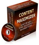 Content Maximizer (PHP)