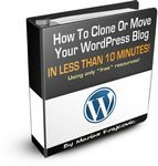 Clone Your Wordpress Blog