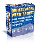 Digital Products Store (PHP) - Free