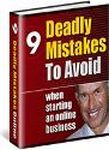 9 Deadly Mistakes Online