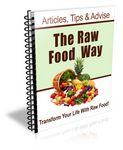 The Raw Food Way - 12 Part eCourse (PLR)