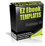 EZ eBook Templates Package V11