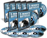 5 Minute Articles - Video Series