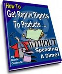 How to Get Free Reprint Rights