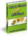 How to Choose and MP3 Player