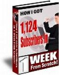 How I Got 1124 Subscribers