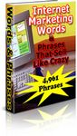 4,961 Marketing Words & Phrases (PLR)