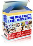 Mega Article Pack