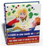 $1000 in One Week on eBay (PLR)