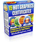 15 Hot Graphic Certificates (PLR)
