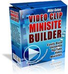 Video Clip Minisite Builder (PLR)