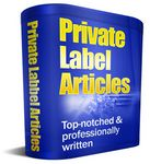 25 Government Articles (PLR)