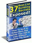 37 Best List Building Secrets Exposed (PLR)