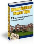 Home Sellers Power Tips (PLR)