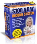 $100 A Day Income System (PLR)