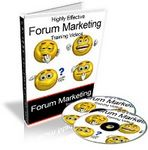 Highly Effective Forum Marketing Video Tutorials (PLR)
