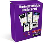 Marketers Minisite Graphics Pack (PLR)