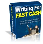 Writing For Fast Cash (PLR)