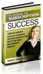 11 Steps to Subscription Success (PLR)