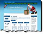 Santa Claus Website Template