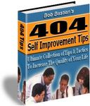 404 Self Improvement Tips