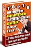 Top 10 Ways to Generate Traffic