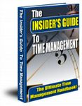 Insider's Guide to Time Management