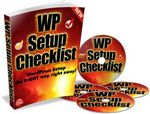 WP (WordPress) Setup Checklist - eBook and Videos